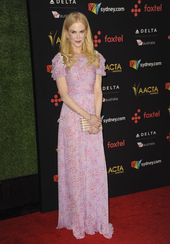 Nicole Kidman – AACTA International Awards 2018 in Los Angeles