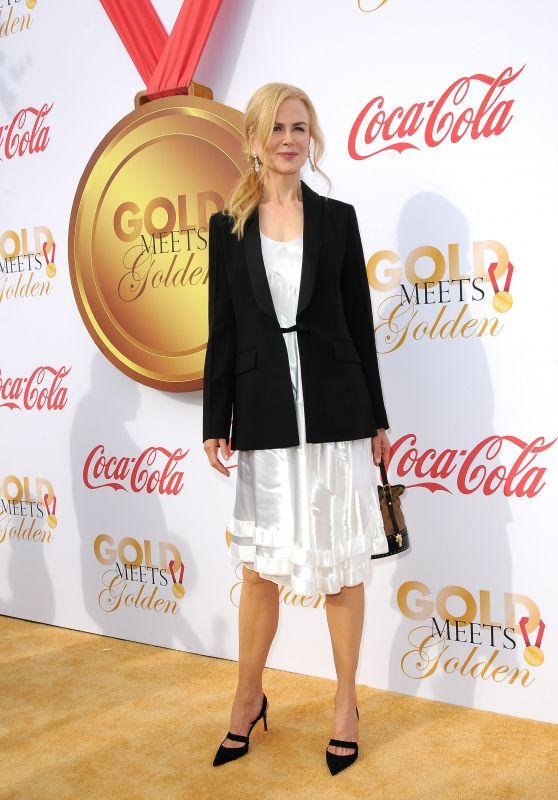 Nicole Kidman – Gold Meets Golden Awards in Los Angeles