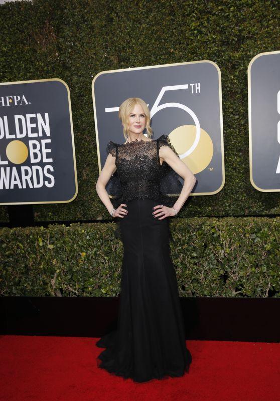 Nicole Kidman – Golden Globe Awards 2018