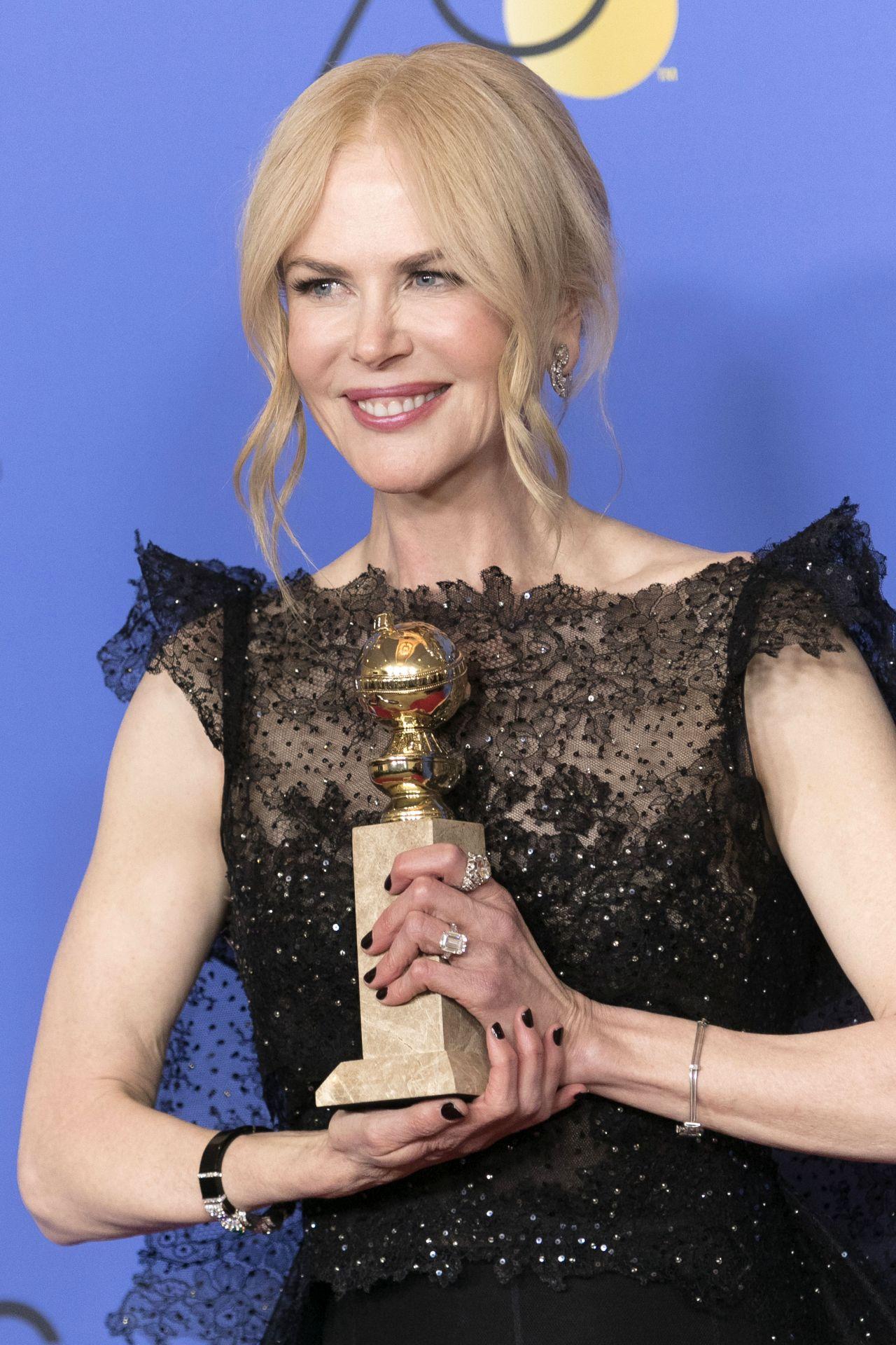 Nicole Kidman Golden Globe Awards 2018 Part Ii