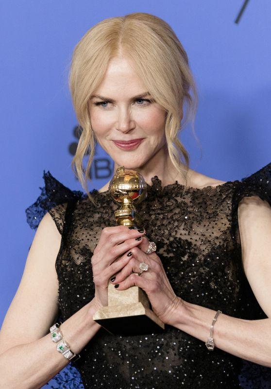 Nicole Kidman – Golden Globe Awards 2018 (Part II)
