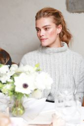 Nina Agdal – AerieREAL Role Models Dinner Party in New York