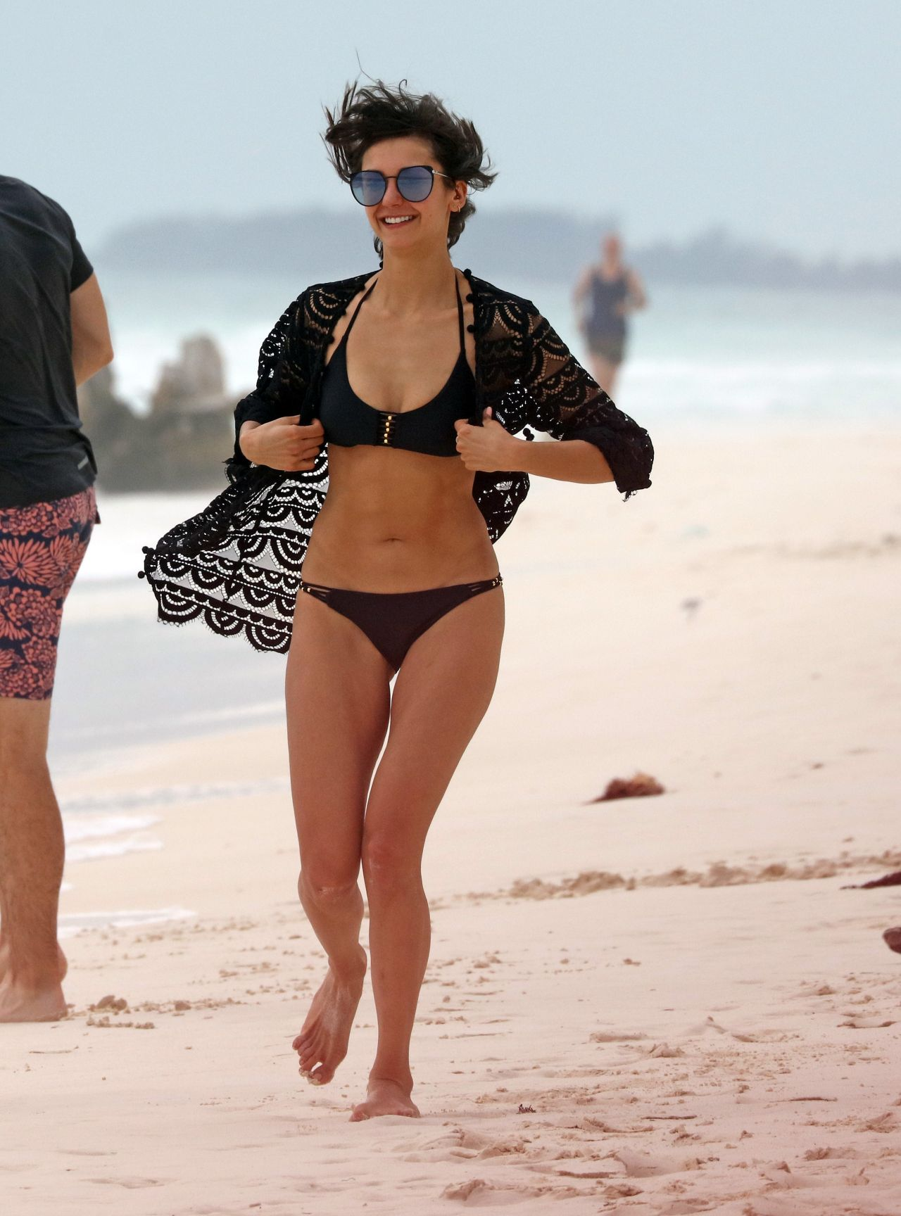 Not Nina dobrev bikini with