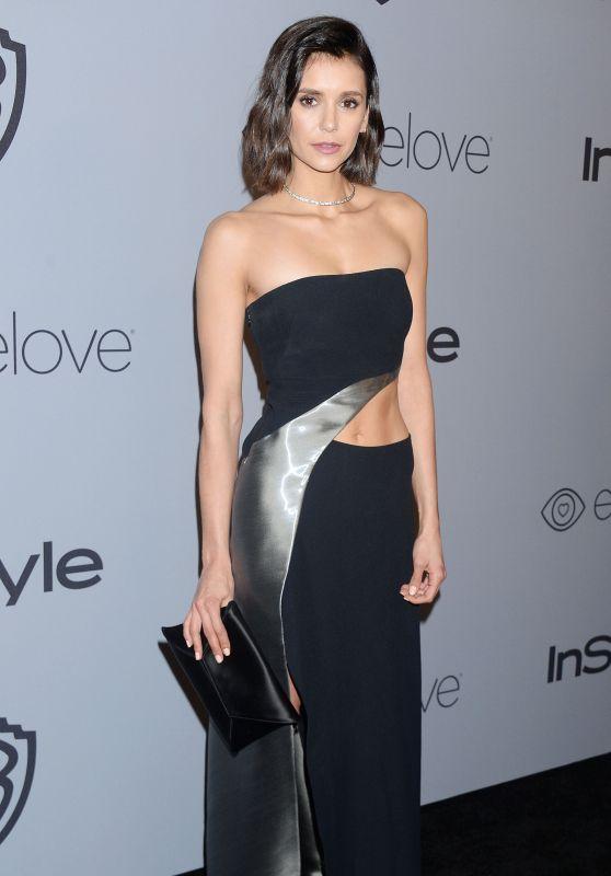 Nina Dobrev – InStyle and Warner Bros Golden Globes 2018 After Party
