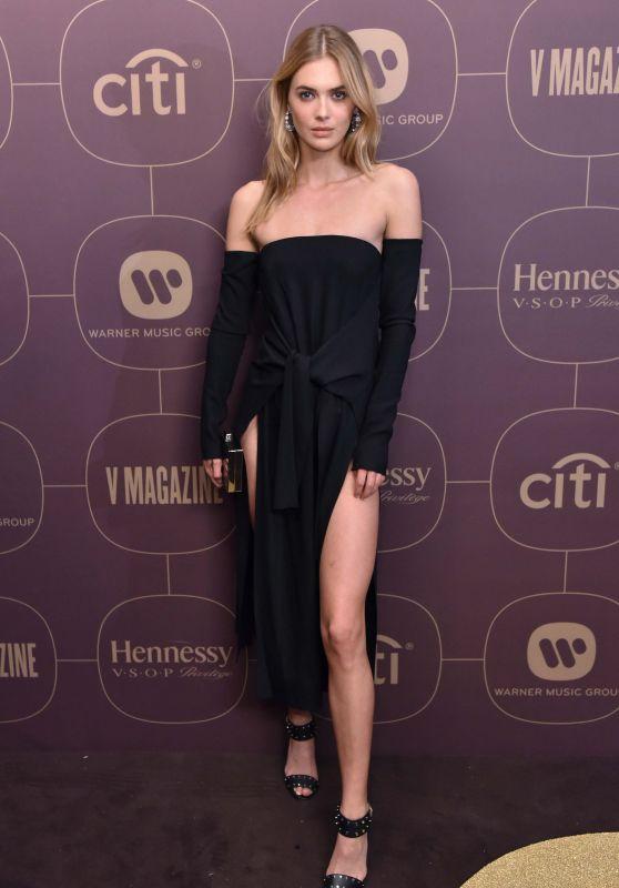 Octavia Calthorpe – Warner Music Pre-Grammy 2018 Party in New York