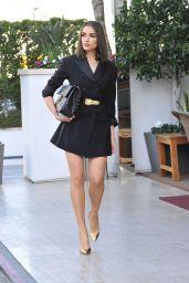 Olivia Culpo is Stylish - Leaving an Office Building in LA