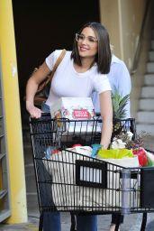 Olivia Culpo - Leaving a Supermarket in LA
