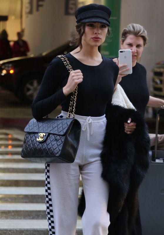 Olivia Culpo Street Fashion - LAX in LA 01/08/2018