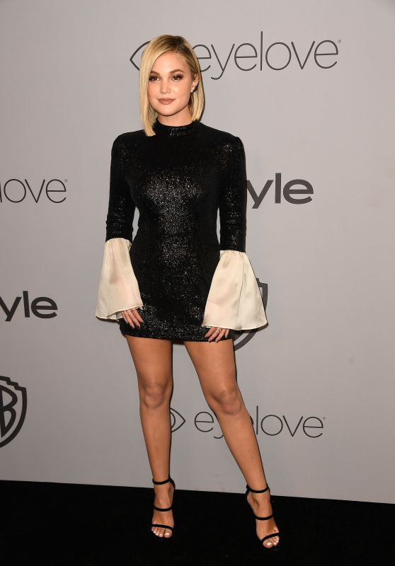 Olivia Holt – InStyle and Warner Bros Golden Globes 2018 After Party