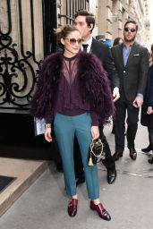 Olivia Palermo – Elie Saab Haute Couture Spring Summer 2018 Show in Paris
