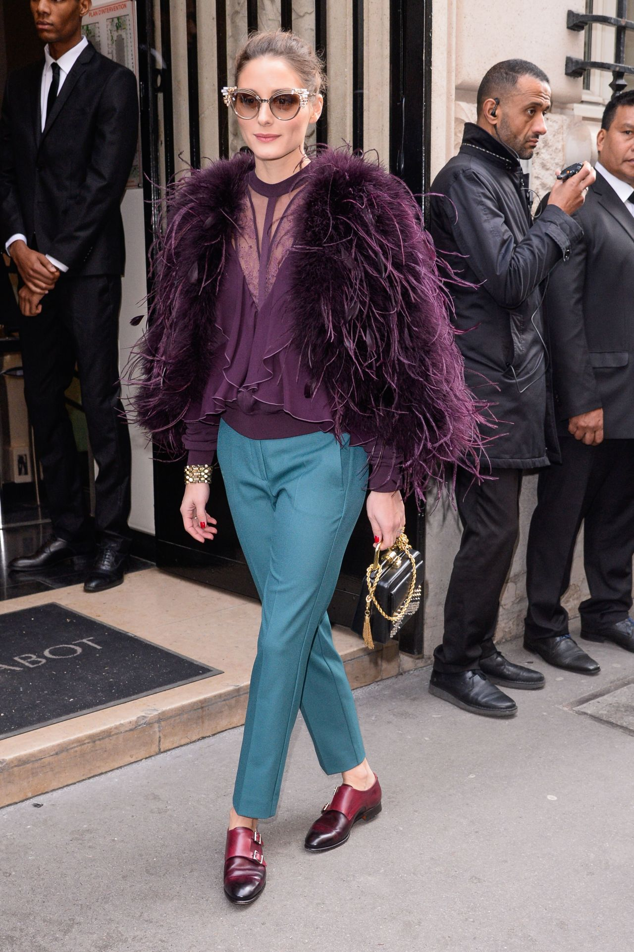 Olivia Palermo – Elie Saab Haute Couture Spring Summer ...