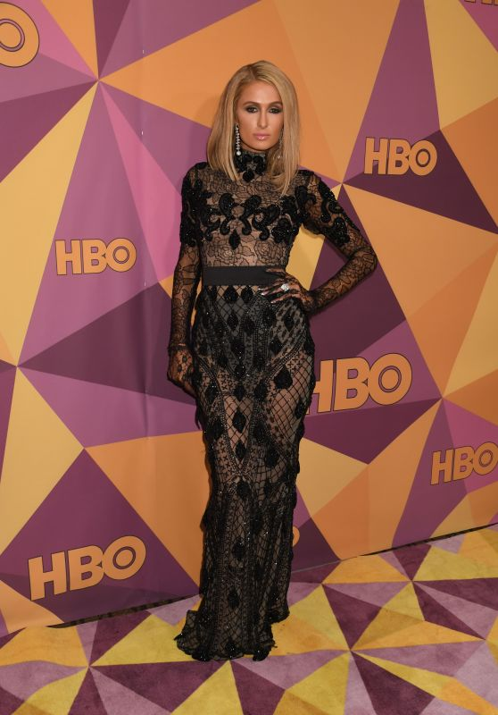 Paris Hilton – HBO's Official Golden Globe Awards 2018 After Party