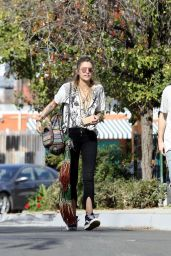 Paris Jackson in Casual Outfit in Woodland Hills