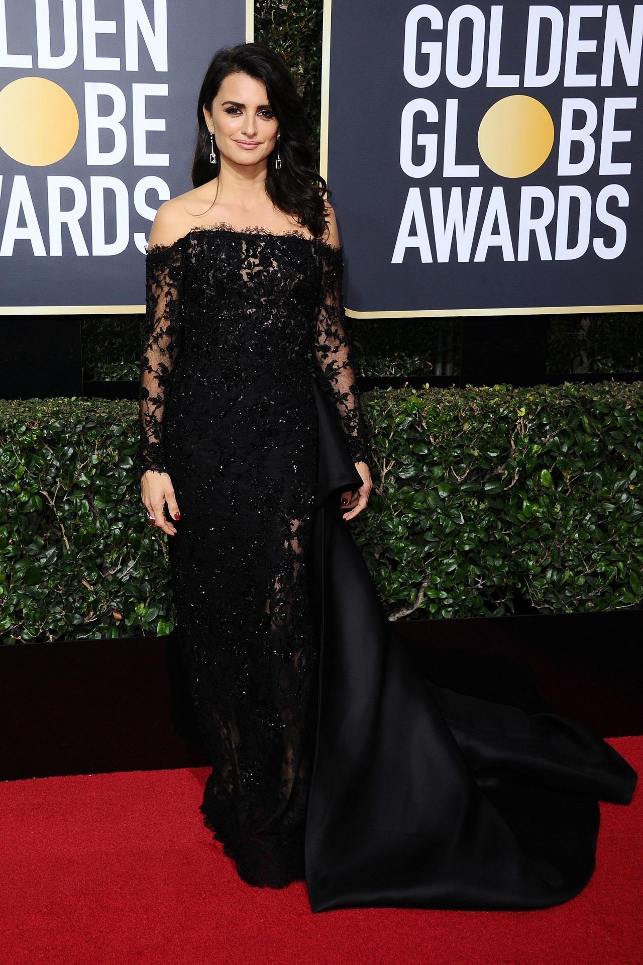 Penelope Cruz Golden Globe Awards 2018 In Beverly Hills