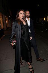 Petra Ecclestone and Tamara Ecclestone - Sumosan Twiga Restaurant in London