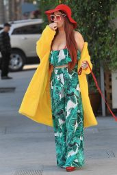 Phoebe Price Street Fashion - Beverly Hills 01/17/2018