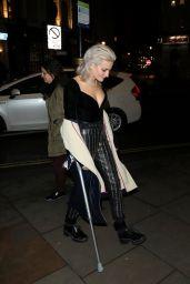 Pixie Lott - Celebrating her 27th Birthday in London