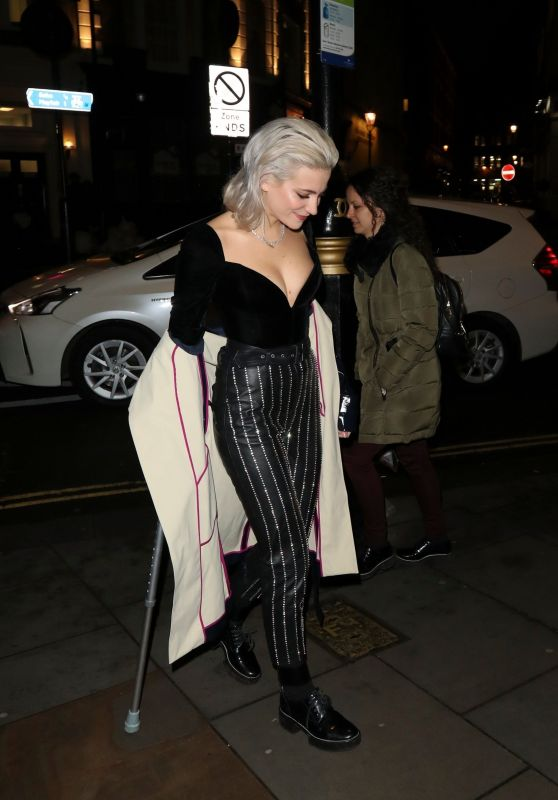 Pixie Lott - Celebrating her 27th Birthday in London