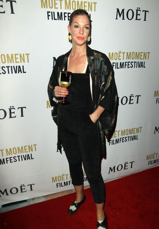 Pollyanna McIntosh – Moet Moment Film Festival Golden Globes Week in Los Angeles