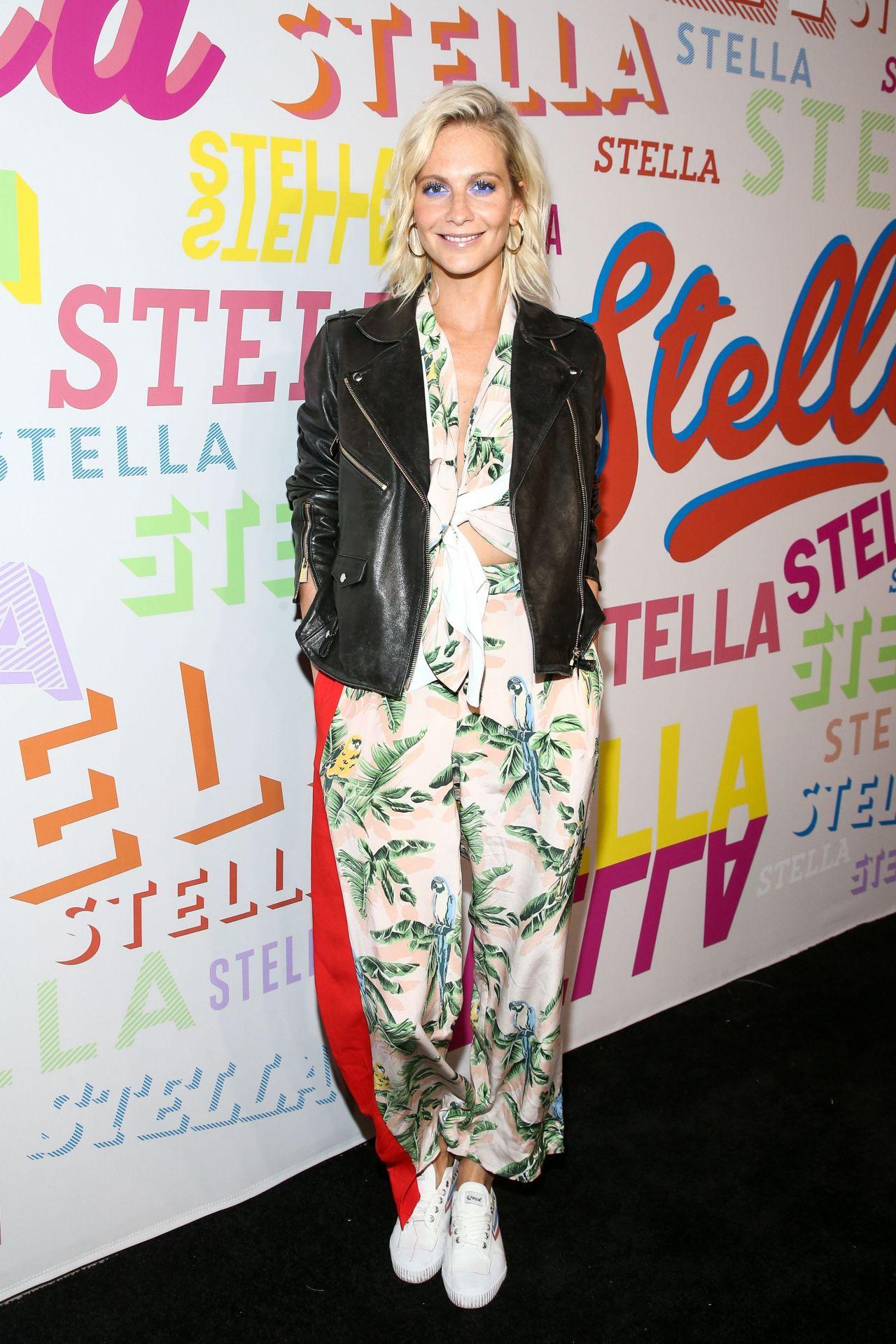 Poppy Delevingne – Stella McCartney Show in Hollywood