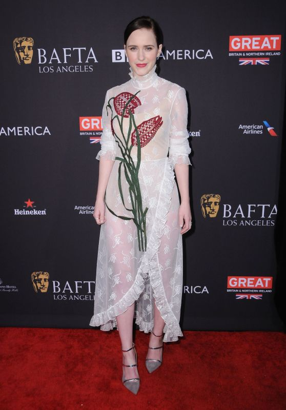 Rachel Brosnahan – 2018 BAFTA Tea Party in Beverly Hills
