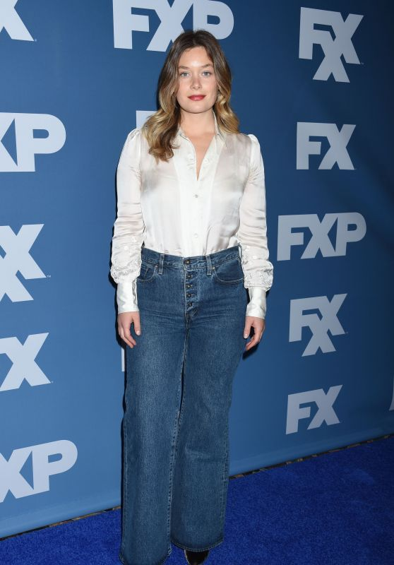 Rachel Keller – 2018 Winter TCA Tour FX Starwalk in Pasadena
