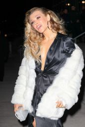 Rachel Platten Arriving at the Grammys 2018 After Party in NYC