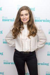 Rachel Shenton - This Morning TV Show in London 01/25/2018