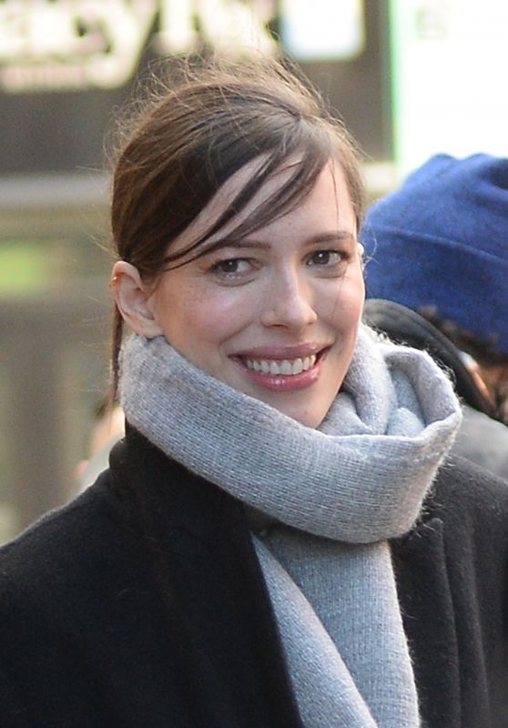 Rebecca Hall - Departs BUILD Series in NYC 01/24/2018