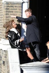 Rebekah Vardy Photoshoot - London 01/02/2018