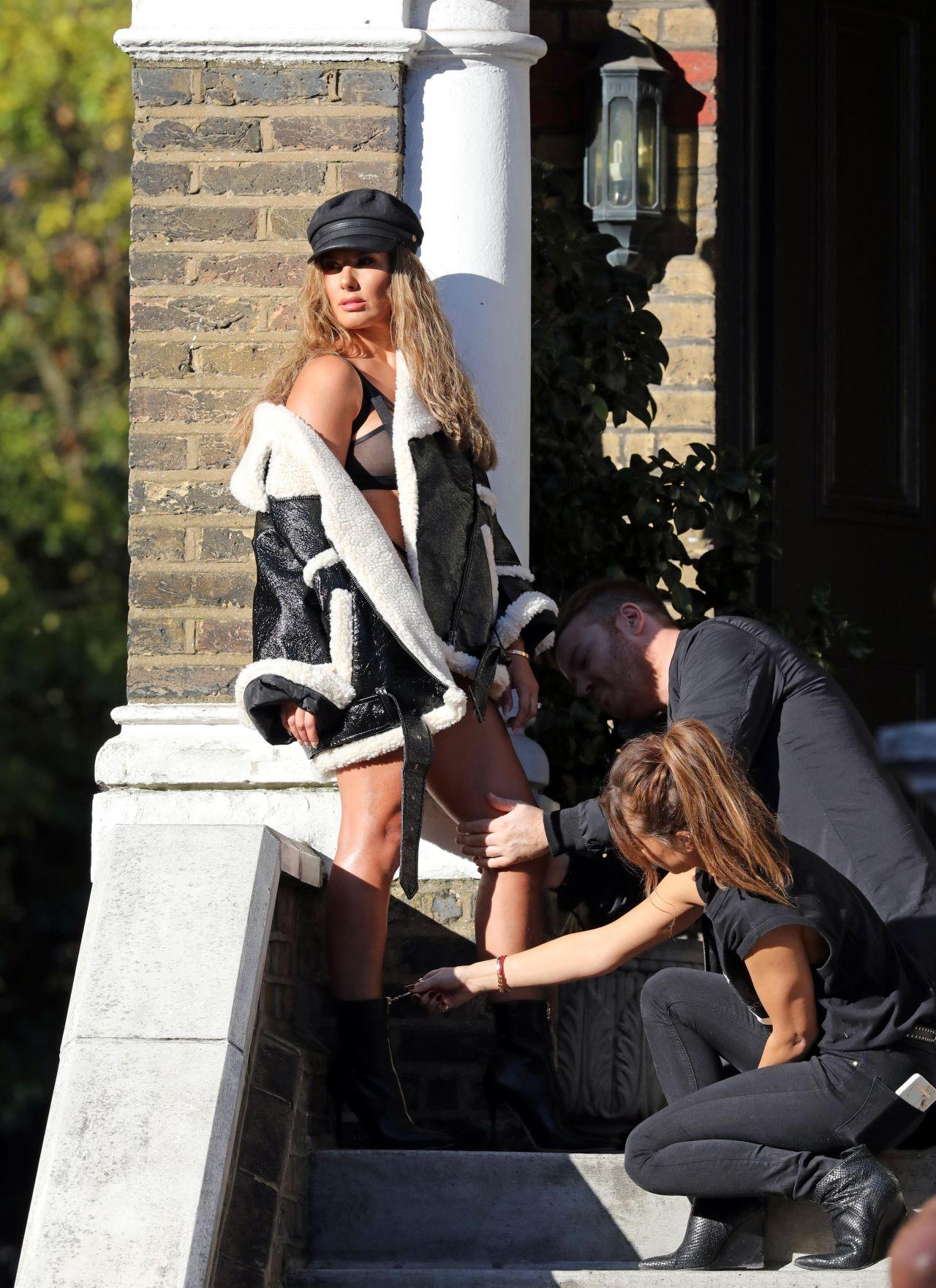 rebekah vardy photoshoot london 01022018