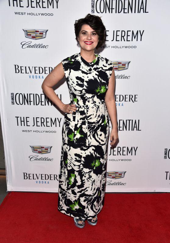 "Rebekka Johnson -  Los Angeles Confidential Celebrates ""Awards Issue"""