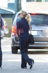 Reese Witherspoon Street Style - Heads to a Studio in LA 01/24/2018