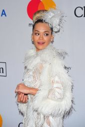 Rita Ora – Clive Davis and Recording Academy Pre-Grammy Gala in NYC