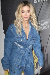 Rita Ora – Delta Airlines Celebrates 2018 GRAMMY Weekend Event in NYC