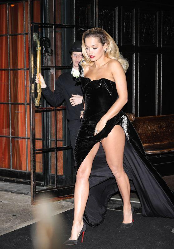 Rita Ora at 2018 GRAMMY Awards in New York City