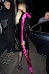 Rita Ora Night Out Style - Leaving The Ivy in London