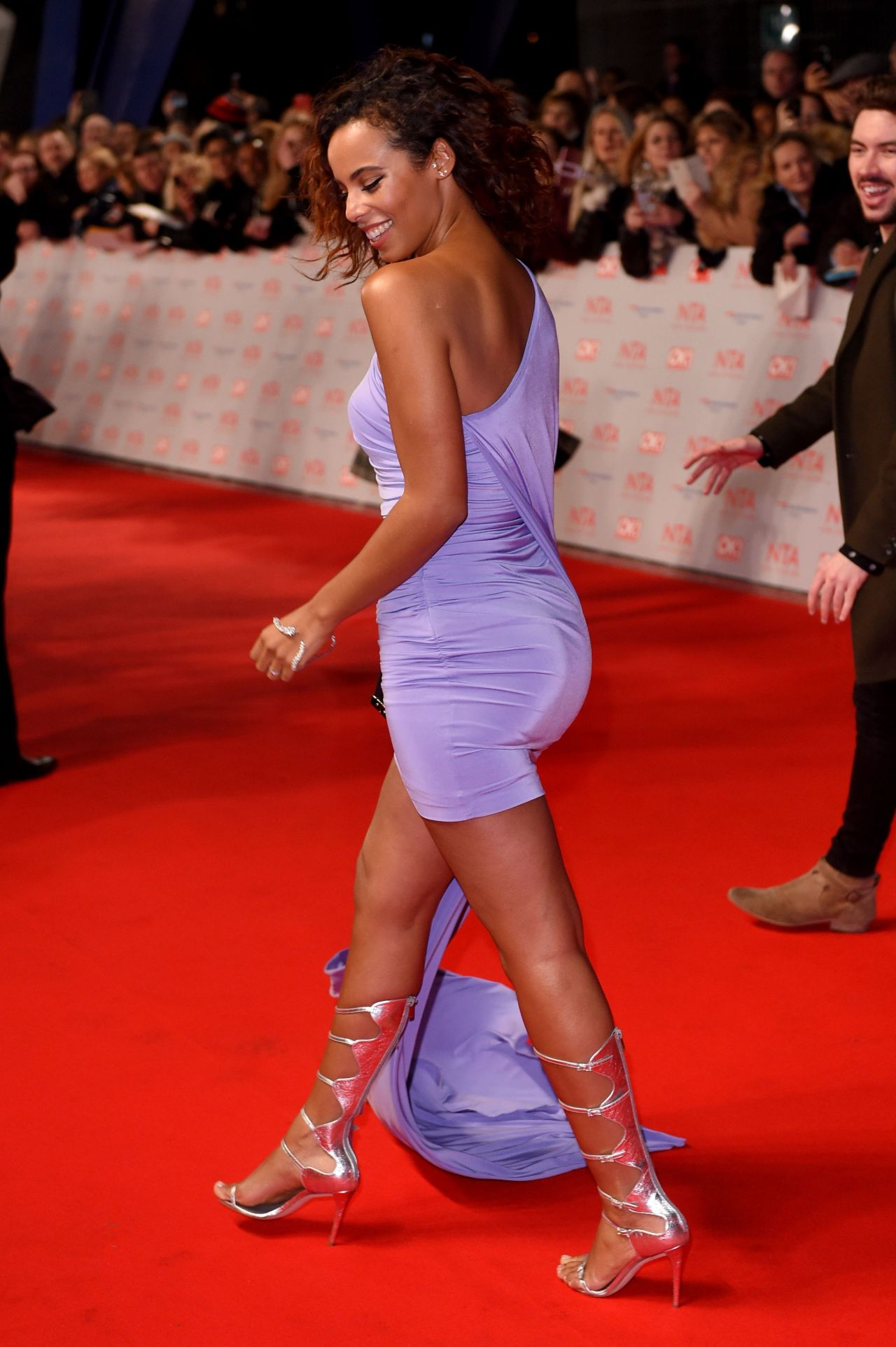 Rochelle Humes 2018 National Television Awards In London