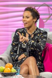 Rochelle Humes - Lorraine TV Show in London