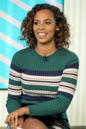 Rochelle Humes - This Morning TV Show in London 01/25/2018
