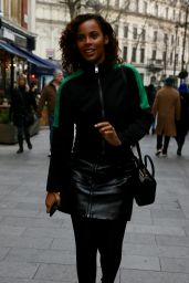 Rochelle Humes Urban Style - Global Radio Studios in London