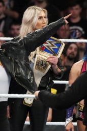 Ronda Rousey at WWE Royal Rumble Philadelphia