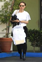 Rooney Mara Goes Grocery Shopping and to the Dry Cleaners in Beverly Hills