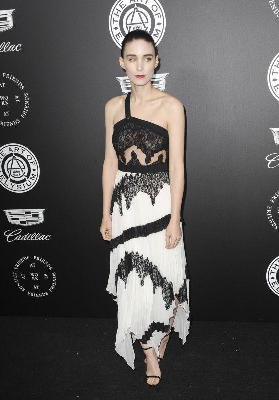 "Rooney Mara – The Art of Elysium Black Tie Artistic Eperience ""Heaven"" in Santa Monica"