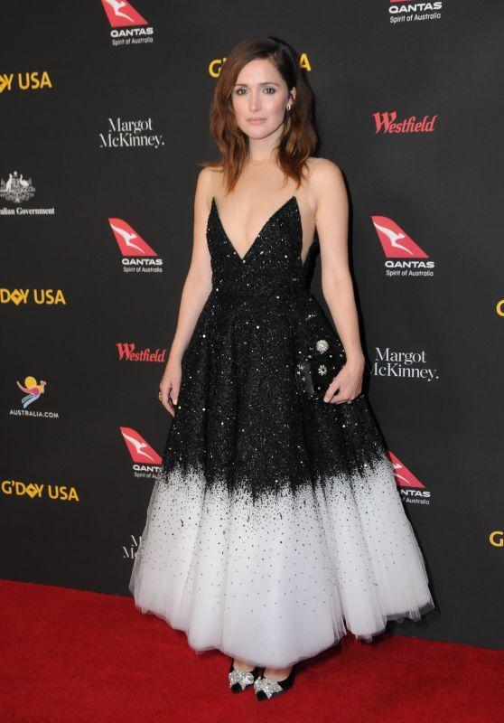 Rose Byrne – 2018 G'Day USA Los Angeles Black Tie Gala