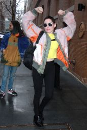 Rose McGowan at The View in NYC 01/30/2018