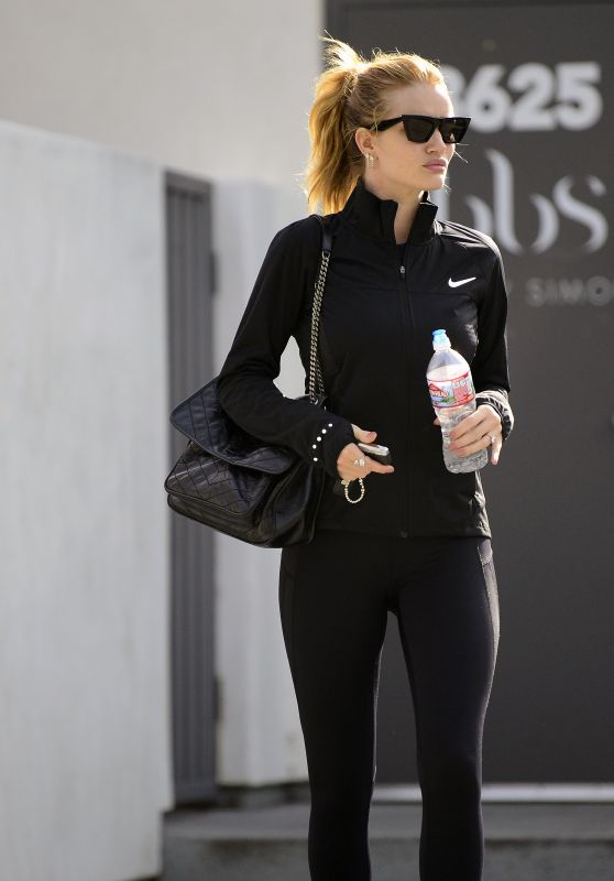 Rosie Huntington-Whiteley in Tights Out in Los Angeles
