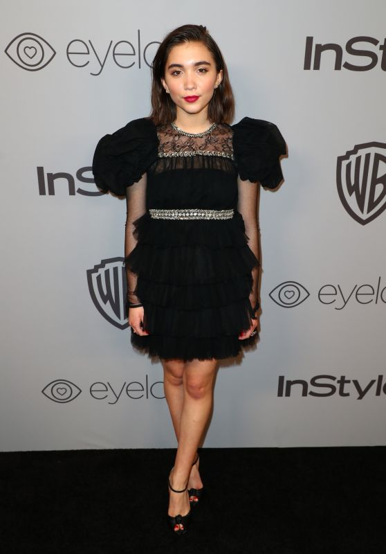 Rowan Blanchard – InStyle and Warner Bros Golden Globes 2018 After Party