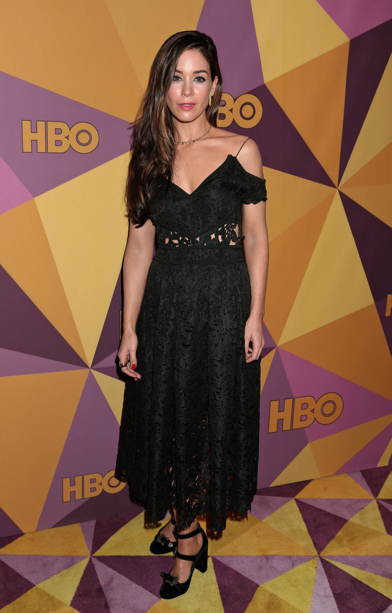 Roxanne Mckee Hbo S Official Golden Globe Awards 2018