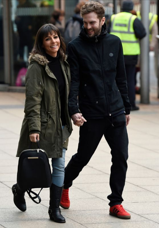 Roxanne Pallett Street Style - Out in Manchester 01/13/2018
